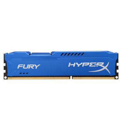 HyperX FURY Blue 4GB 1600MHz DDR3 4GB DDR3 1600MHz memoria