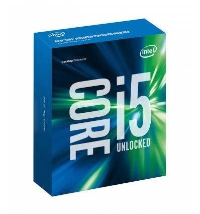CPU Intel Core i5-6600K 3,5GHz Socket 1151 6MB Cache BOXED