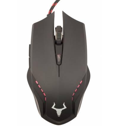 iTek ITMGG58A USB Ottico 2400DPI Nero Mano destra mouse