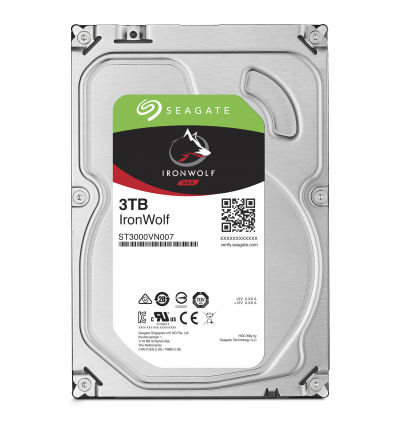Seagate NAS HDD IronWolf 3TB 3000GB Serial ATA III