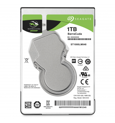 "Seagate Barracuda BarraCuda 2.5"" 1TB 1000GB Serial ATA III"