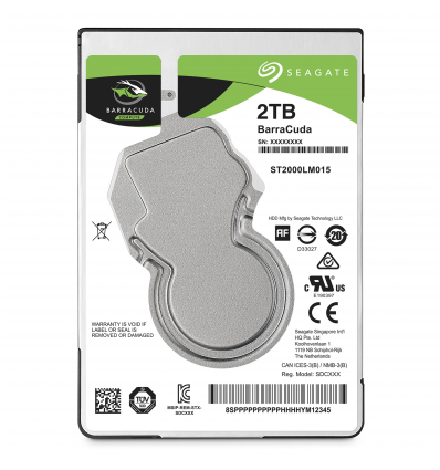 "Seagate Barracuda BarraCuda 2.5"" 2TB 2000GB Serial ATA III"