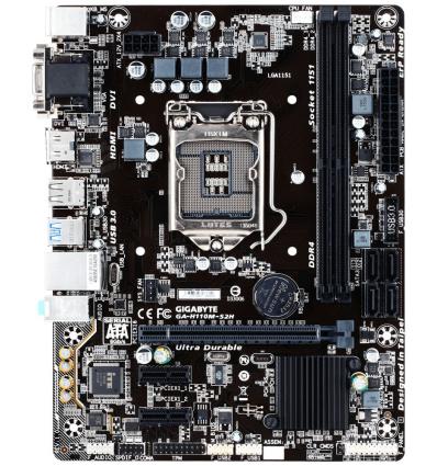 Gigabyte GA-H110M-S2H Intel H110 LGA1151 Micro ATX scheda madre