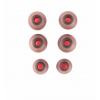 iTek Taurus IE100 Auricolare Stereofonico Nero, Rosso