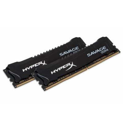 HyperX Savage Memory Black 8GB DDR4 2133MHz Kit 8GB DDR4 2133MHz memoria