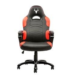 iTek Gaming Chair TAURUS P1 - Pelle sintetitca PU, Nero Rosso