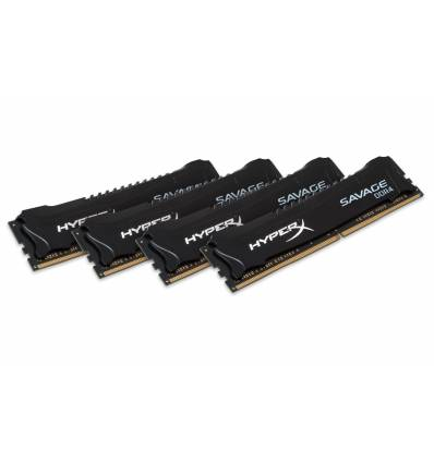 HyperX Savage Memory Black 64GB DDR4 2666MHz Kit 64GB DDR4 2666MHz memoria