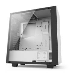NZXT GAMING CASE SOURCE 340 ELITE WHITE MID TOWER CA-S340W-W2