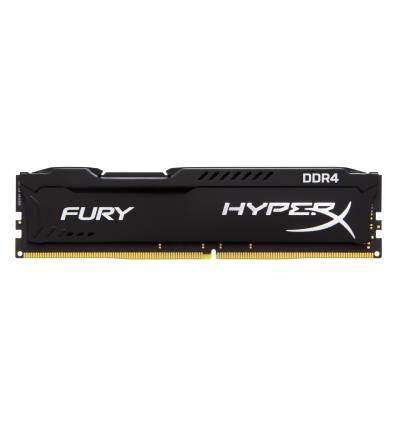 HyperX FURY Memory Black 8GB DDR4 2400MHz Module 8GB DDR4 2400MHz memoria