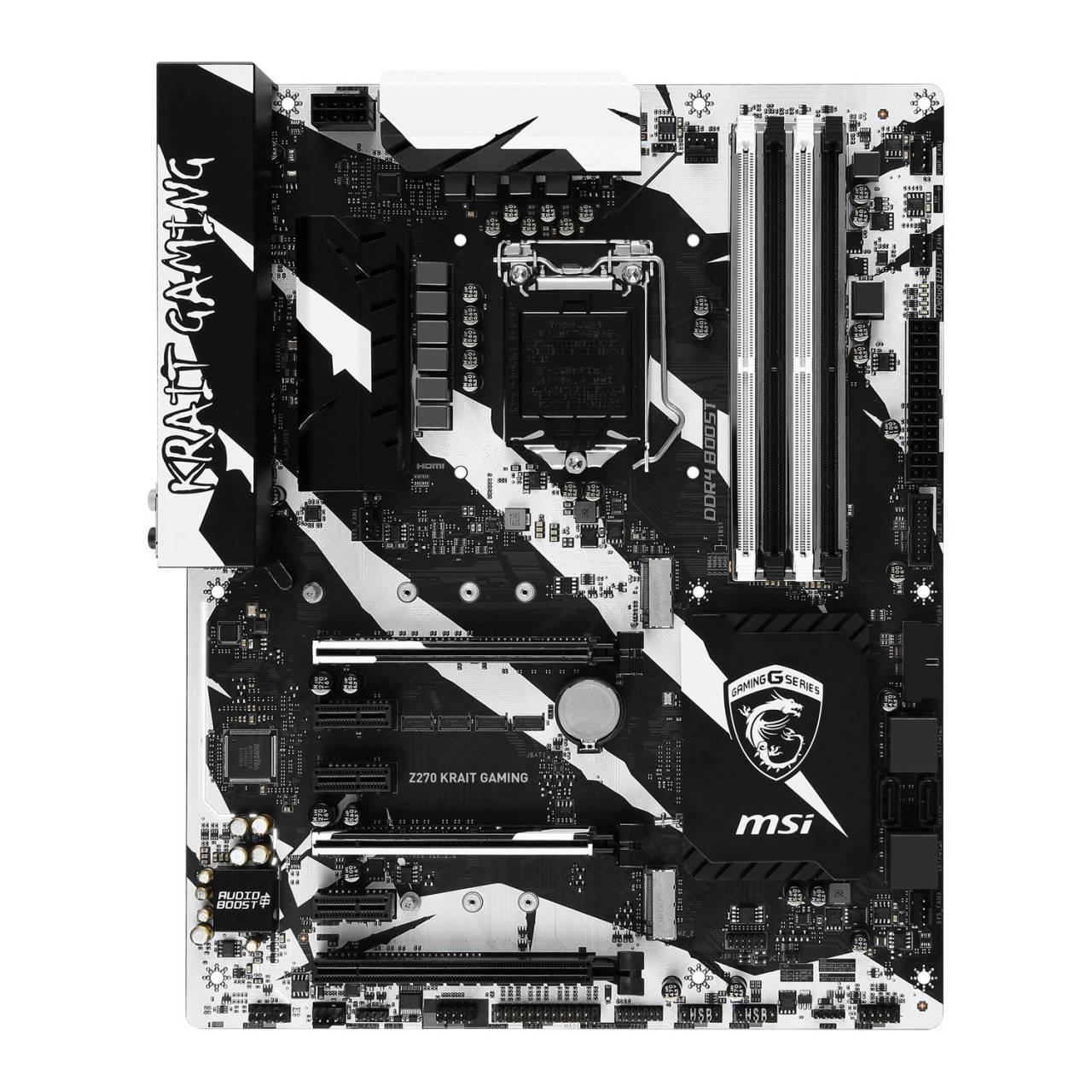 Scheda Madre MSI Z270 Krait Gaming Intel Z270 Socket 1151