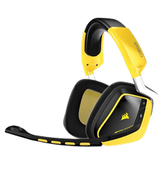 Corsair Gaming VOID Wireless SE Yellow Jacket Cuffie Gaming Wireless USB Dolby 7.1 con Microfono Giallo