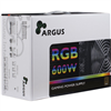 Alimentatore 600W Inter-Tech Argus RGB-600W