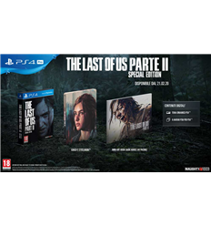 PS4 The Last Of Us : Part II - Special Edition - ESAURITO