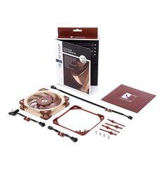 SILENT PACK - sostituzione ventole cabinet con 3 x Noctua NF-A12x25 ULN