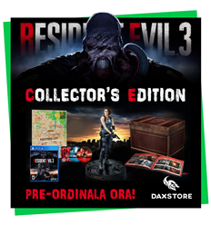 PS4 Resident Evil 3 - Collector's Edition ITALIA - PRONTA CONSEGNA